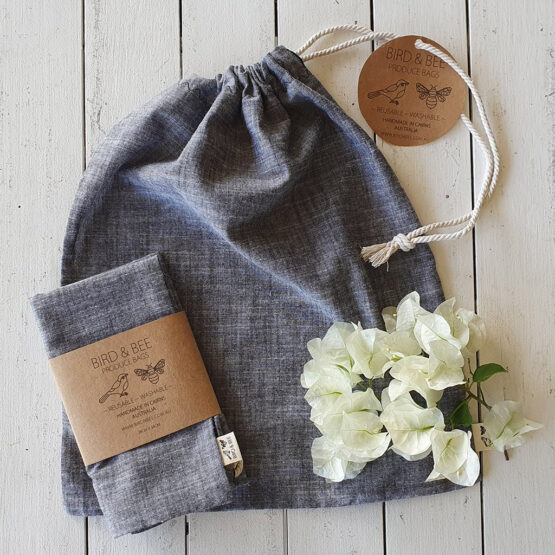 Charcoal Produce Bag